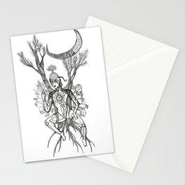 Buddha Under Bodhi Tree Stationery Cards