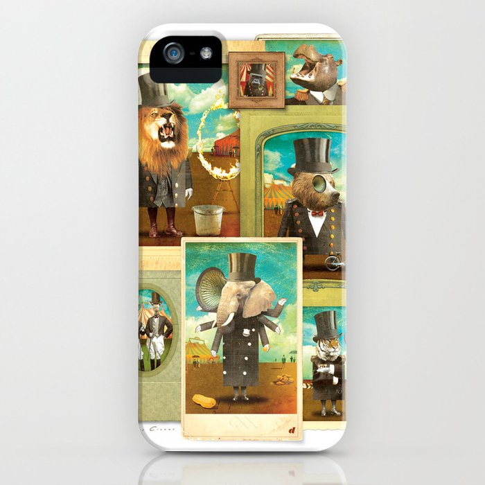 Circus-Circus: The Whole Gang iPhone Case