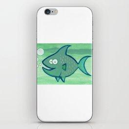 Super Happy Fish! iPhone Skin