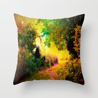 heaven Throw Pillows featuring HEAVEN by 2sweet4words Designs