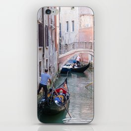 Exploring Venice by Gondola iPhone Skin