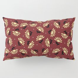Ethnic flowers Pillow Sham