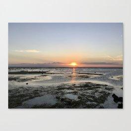 Sunset Sea at Gili Trawangan Island | Travel photography Indonesia | Adventure in Asia Canvas Print