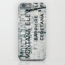 Ghosts of Montana iPhone Case