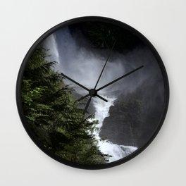 Wallace Falls Wall Clock