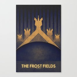 Pluto - The Frost Fields Canvas Print