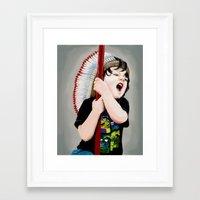 hero Framed Art Prints featuring Hero by Carlos ARL