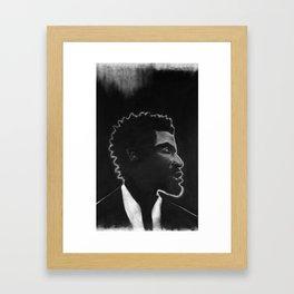 Black Man Framed Art Print