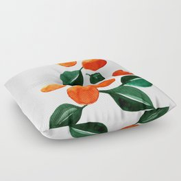 Orange Tree Floor Pillow