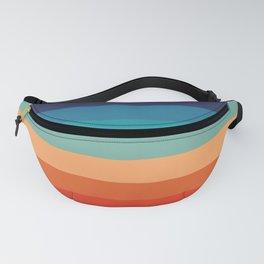 Retro Rainbow Stripes Fanny Pack