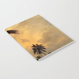 Photo 11 Palm Trees Notebook