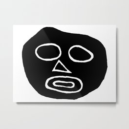 The big head Metal Print