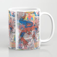 vintage comic spider man  Mug