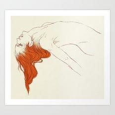 Hana Ranman Art Print