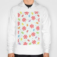 candy Hoodies featuring Candy by Alice Brown