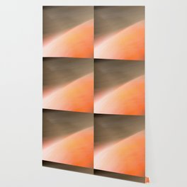 The Abstract Planet. Orange to Black Shades. Wallpaper