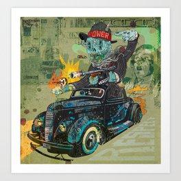 Bootleg Husker Art Print