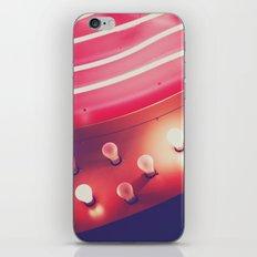 Pink Neon Glow iPhone & iPod Skin