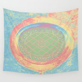 tower window II Wall Tapestry