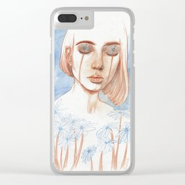 Tuned in Nature Clear iPhone Case