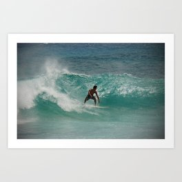 The Surfer Art Print