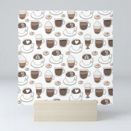 Coffee Cups Mini Art Print
