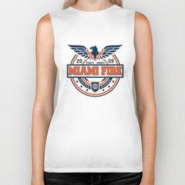 Miami Fire Biker Tank