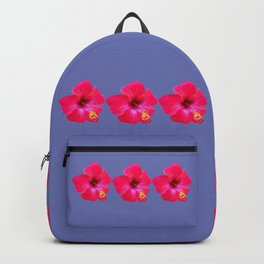 Red Hibiscus Backpack