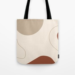 Threads of destiny - Modern abstract art Tote Bag