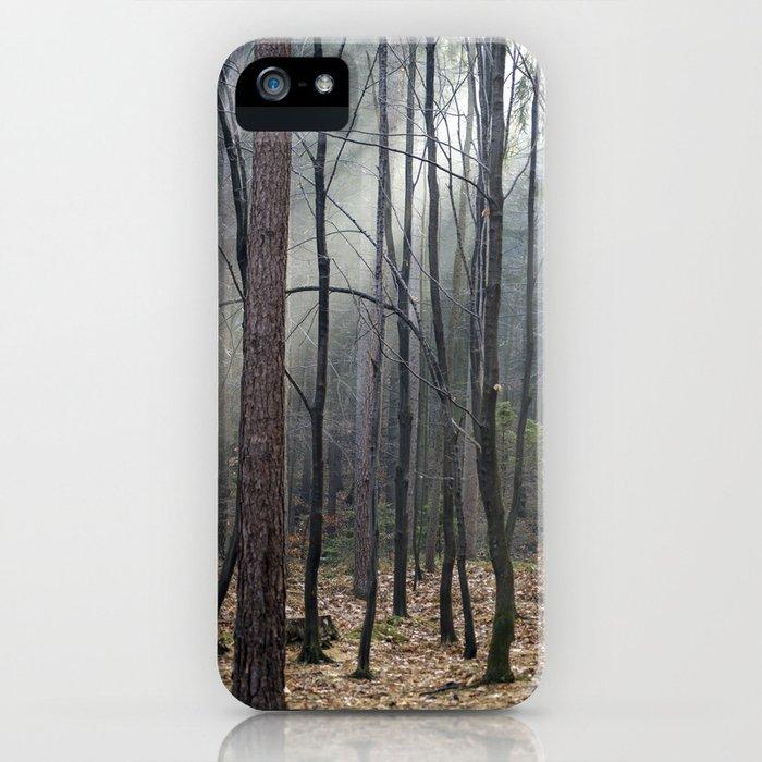 Magical winter light iPhone Case