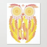 coachella Canvas Prints featuring Coachella by Dulce Velasco