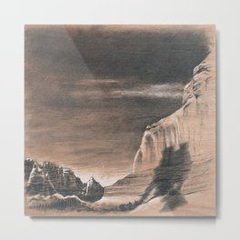 Utah #1 (Right) Metal Print