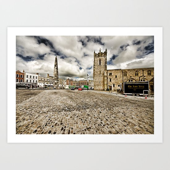 Richmond, North Yorkshire Art Print
