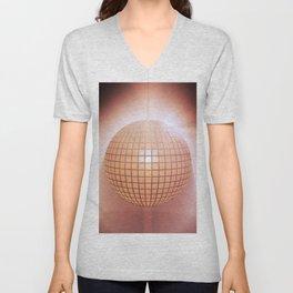 Sparkling disco ball Unisex V-Neck