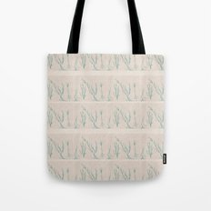 Plants in a Line Tote Bag