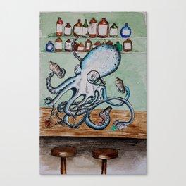 Octobartender Canvas Print