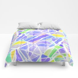 Pastello Purple Comforters