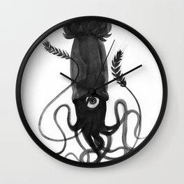 Beer Squid Wall Clock