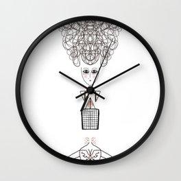 Iride is Marie Antoinette Wall Clock
