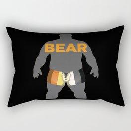 Bear pride LGBT PRIDE SEASON  Rectangular Pillow