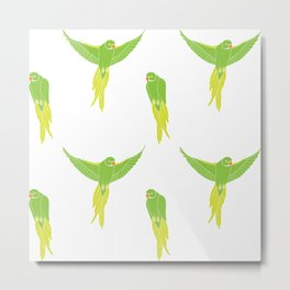 Wild Parrots of East Austin Metal Print