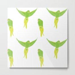 Wild Parrots of East Austin Metal Print
