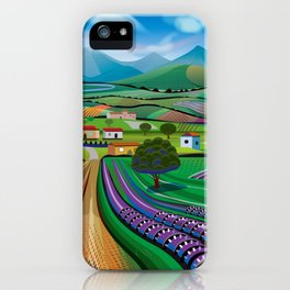 Morning in Avocado Hills iPhone Case