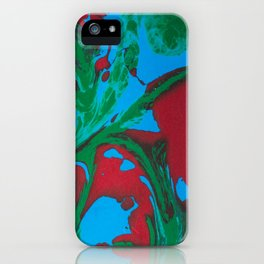 Painted Feathers iPhone Case
