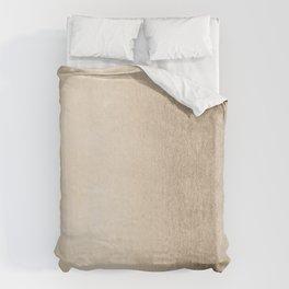 White Gold Sands Duvet Cover