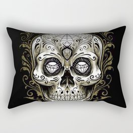 Sugar Skull - Rectangular Pillow