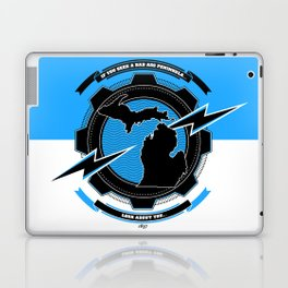 If You Seek a Bad Ass Peninsula... Laptop & iPad Skin