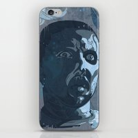 leon iPhone & iPod Skins featuring Leon Kowalski by Beery Method