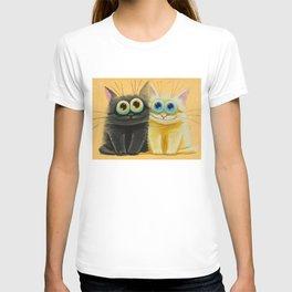 cat play T-shirt