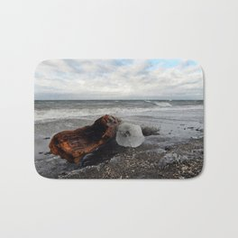 Driftwood And Ice in Spring Bath Mat